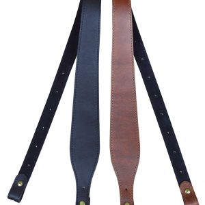 60mm Tapered Genuine Leather Padded Gun Sling