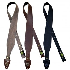60mm Tapered Genuine Leather Gun Sling