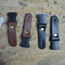 Leather Ends(2) To Suit Clip Buckle