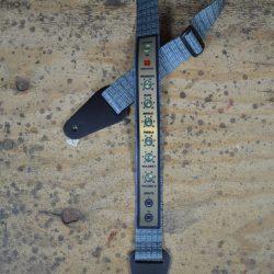 Amp Panel Printed Webbing Guitar Strap