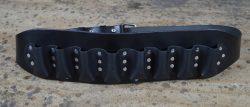 Leather Harmonica Belt