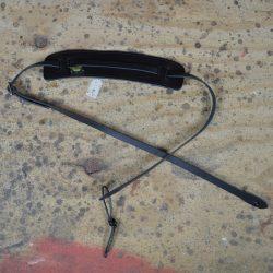 Black Leather Ukulele Strap