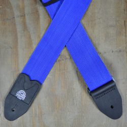 Blue Webbing Guitar Strap