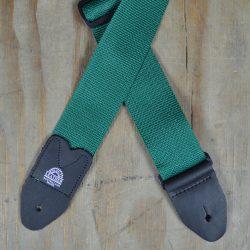 Dark Green Webbing Guitar Strap