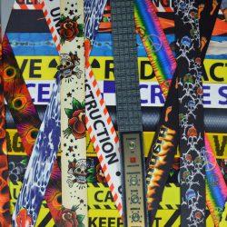 Printed Webbing Guitar Straps