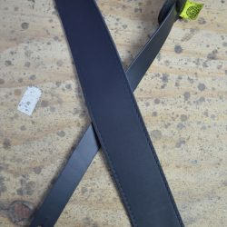 2.5″ Sueded Black Soft Leather Guitar Strap