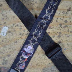 Barb Wire Tattoo Rag Guitar Strap
