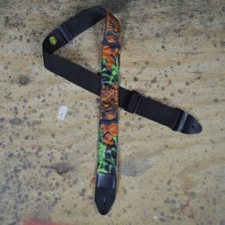 Idol & Jungle Tattoo Rag Guitar Strap