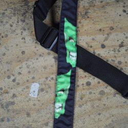 Mask Green Tattoo Rag Guitar Strap