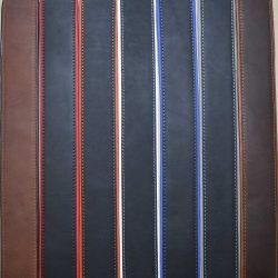 Padded Upholstery Leather Guitar Straps
